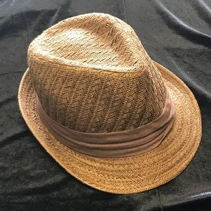 Accessories - Woven Fedora Hat